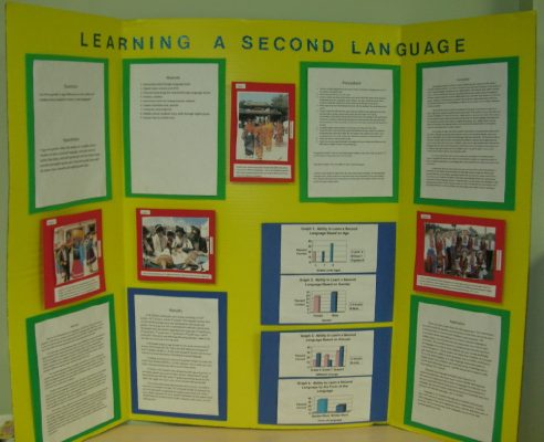 Science Fair Project on Foreign Language Learning
