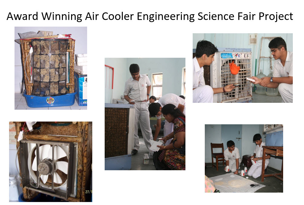 Engineering Science Fair Project on Indoor Air Quality