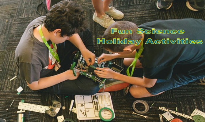 Science Holiday Activities for Kids