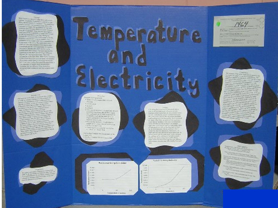 Science Fair Project on Temperature and Electricity Abstract
