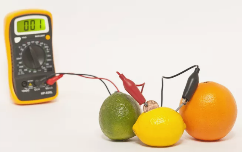 8th Grade Electricity Science Fair Project With Fruit