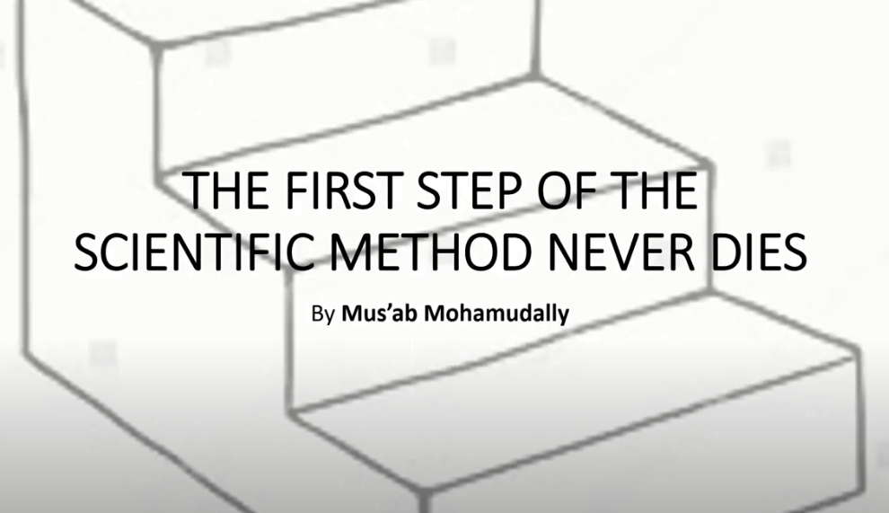 The First Step of the Scientific Method Never Dies Video