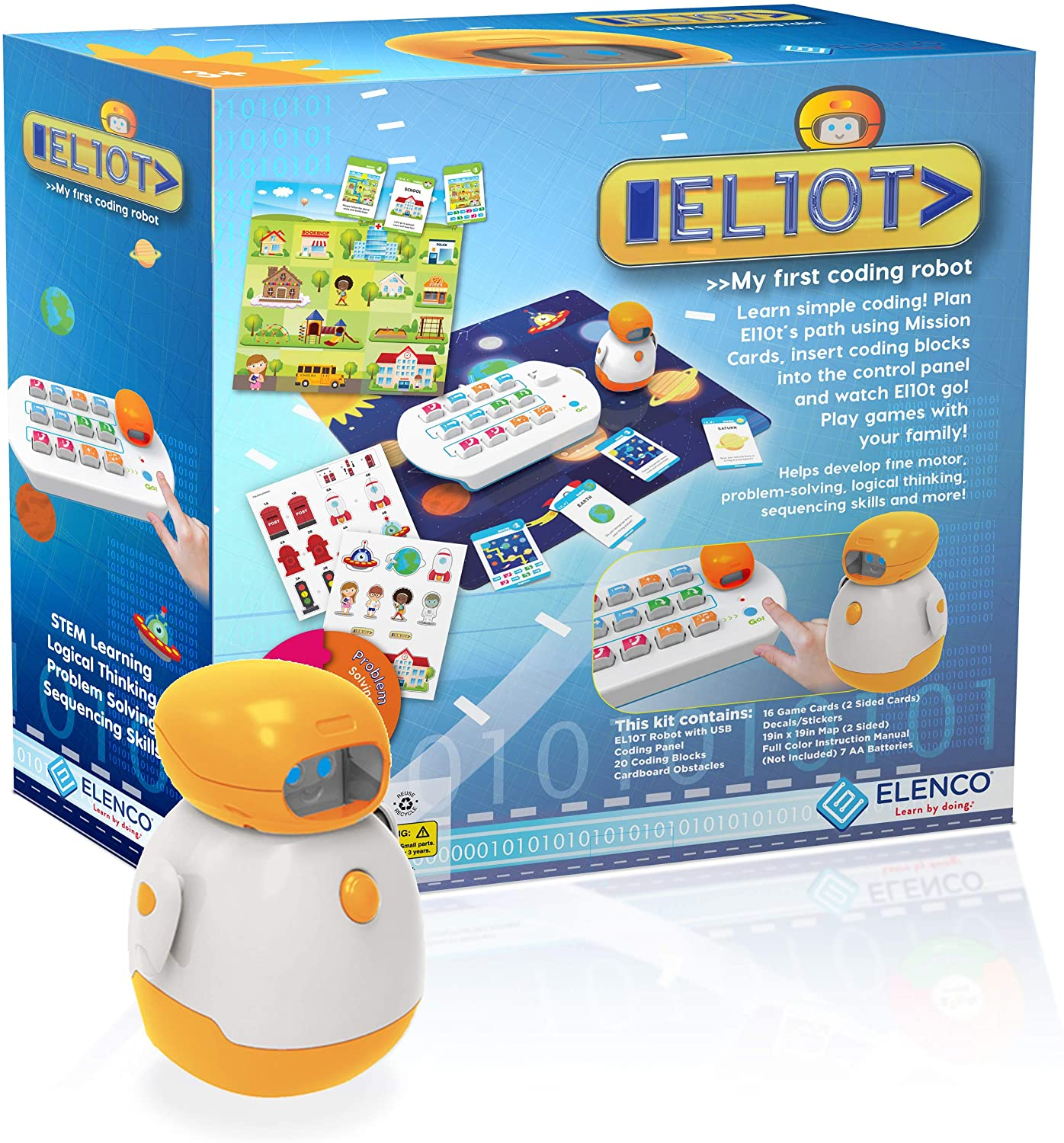 EL10T Coding Robot for Young Children Parts