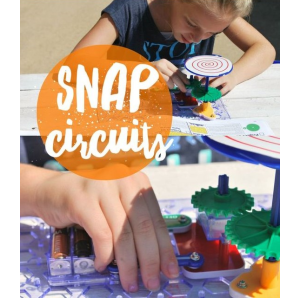 Snap Circuits Electronic Learning Kits for Science Fair Projects