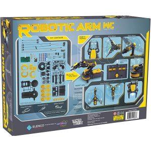 TTR535 Robotic Arm Wired Images on Back of Box