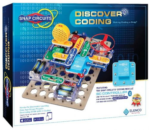 SCD303 Discovering Coding! Snap Circuits Box Cover