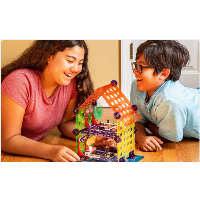 Elenco Snap Circuits My Home Electronics Building Kit Brother & Sister
